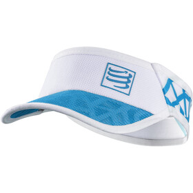 Compressport Spiderweb Ultralight Visiera, white-blue